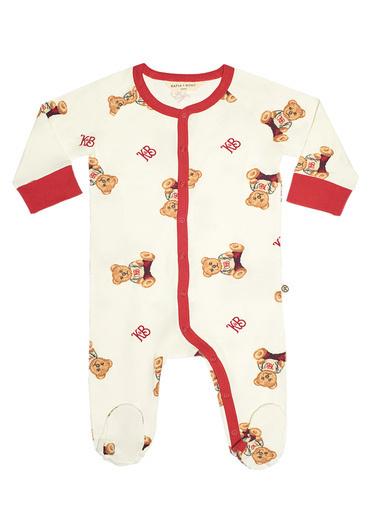Katia & Bony Teddy Bear Patikli Bebek Tulum Renkli
